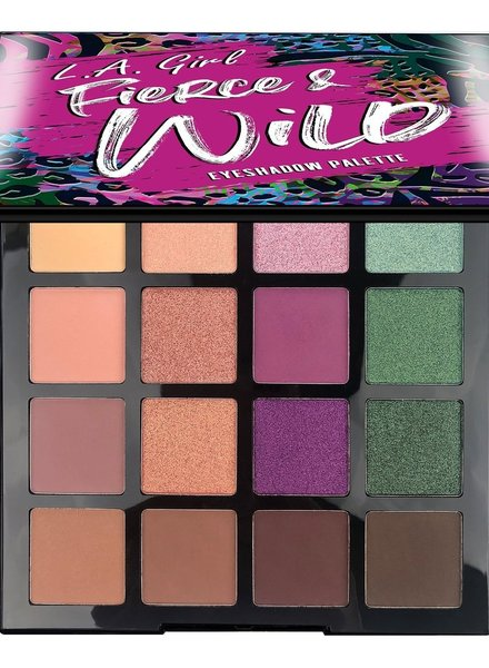 L.A. Girl L.A. Girl - Fierce & Wild Eyeshadow Palette - Untamed