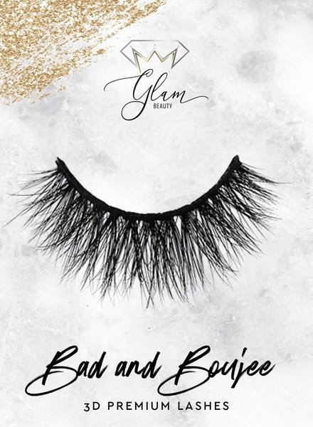 Glam Beauty Glam Lashes Premium - Bad & Boujee