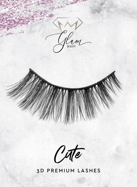 Glam Beauty Glam Lashes Premium Silk - Cute