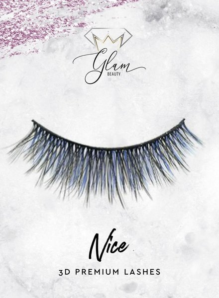 Glam Beauty Glam Lashes Premium Silk - Nice