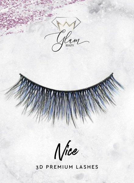 Glam Beauty Glam Lashes Premium Silk - Nice