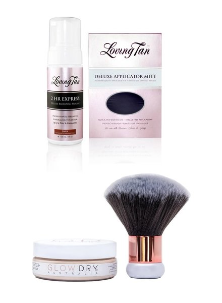 GlowDry GlowDry™ & Loving Tan Combo - Dark