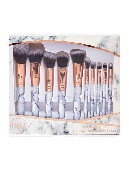 Lurella  Lurella Cosmetics Brushset - Deluxe Marble Brush Set