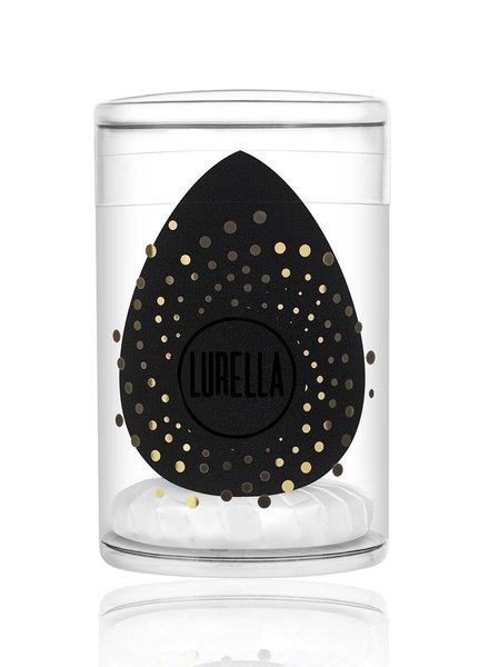 Lurella  Lurella Cosmetics - Teardrop Beauty Sponge Black