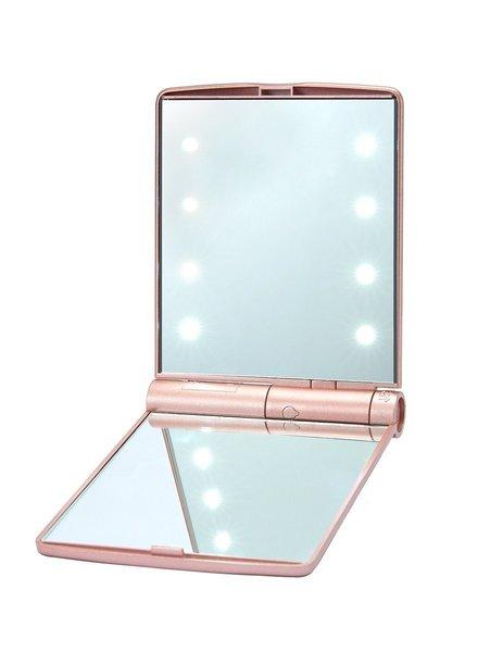 Lurella  Lurella Cosmetics - Compact Mirrors - Rosegold Rush