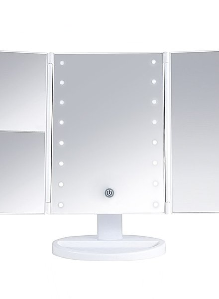 Lurella  Lurella Cosmetics - Desktop Mirror - White as snow