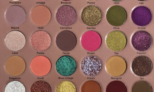 Jacy Cosmetics Paletten & Tools