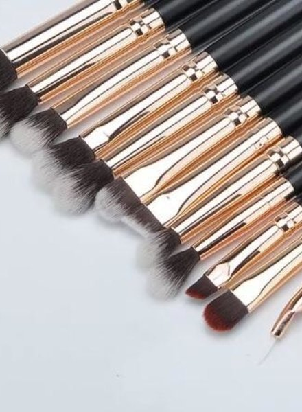 Jacy Cosmetics Jacy Cosmetics - Rosegold Makeup Brushes 12pcs