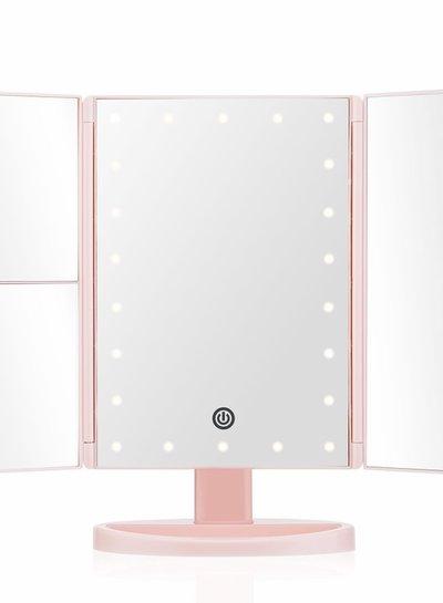 Lurella  Lurella Cosmetics - Desktop Mirror - Pink Lemonade