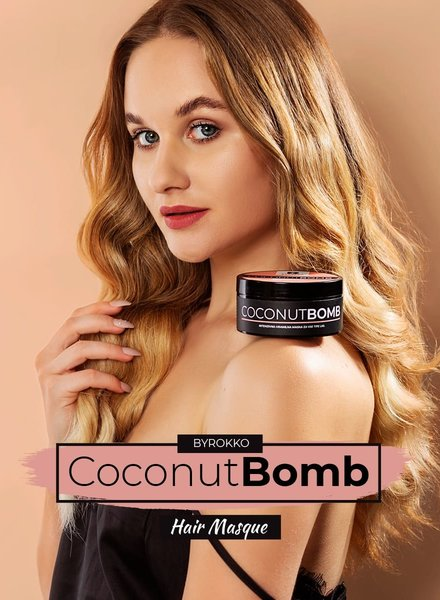 BYROKKO BYROKKO - Coconut Bomb Nourishing Hair Masque