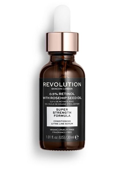 Revolution Skincar Revolution Skincare - Extra 0.5% Retinol & Rosehip Serum