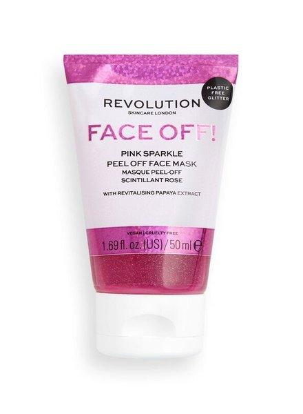 Revolution Skincare Revolution Skincare - Pink Glitter Face Off Mask