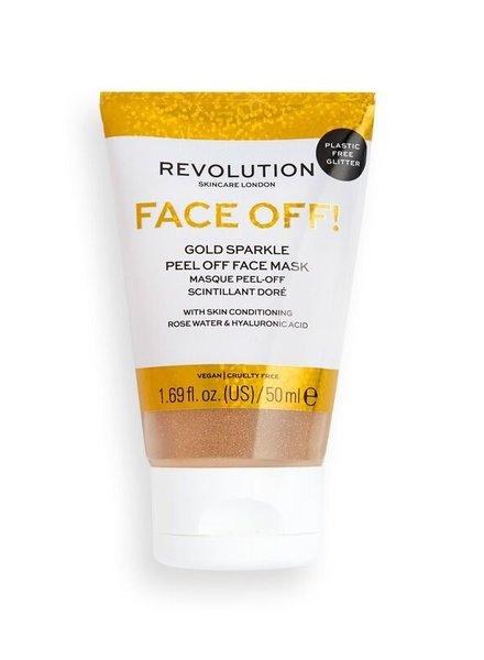 Revolution Beauty London Revolution Skincare - Gold Glitter Face Off Mask