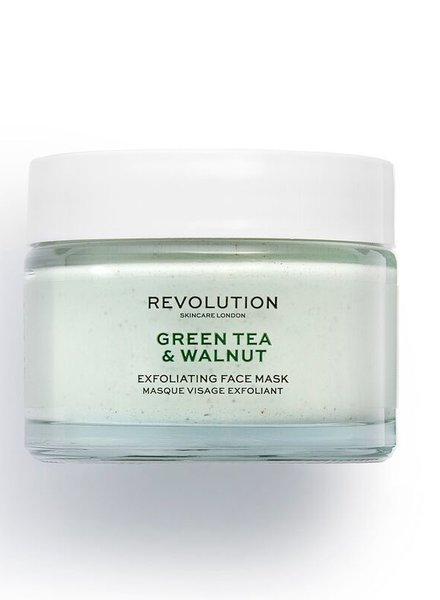 Revolution Beauty London Revolution Skincare - Green Tea & Walnut Face Mask