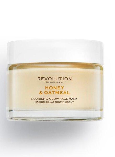 Revolution Beauty London Revolution Skincare - Honey & Oatmeal Face Mask