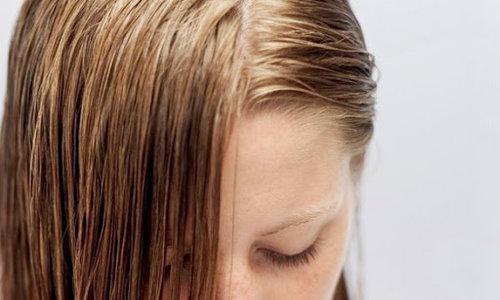 fettiges Haar