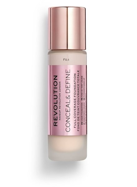 Makeup Revolution Conceal & Define Full Coverage Foundation [F 0.1]