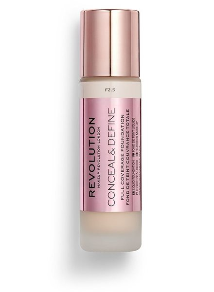 Makeup Revolution Conceal & Define Full Coverage Foundation [F 2.5]