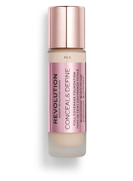 Makeup Revolution Conceal & Define Full Coverage Foundation [F 3.5]