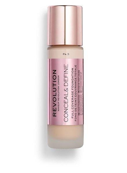 Makeup Revolution Conceal & Define Full Coverage Foundation [F 4.5]