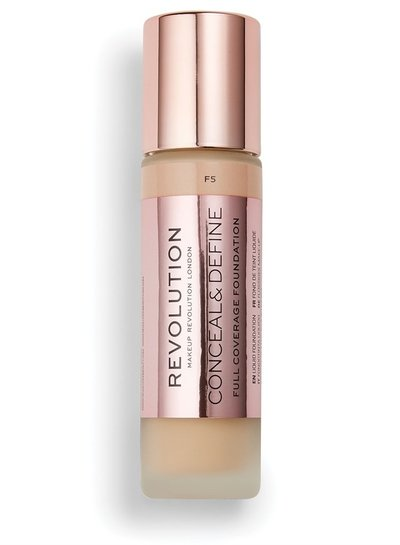 Makeup Revolution Conceal & Define Full Coverage Foundation [F 5.0]