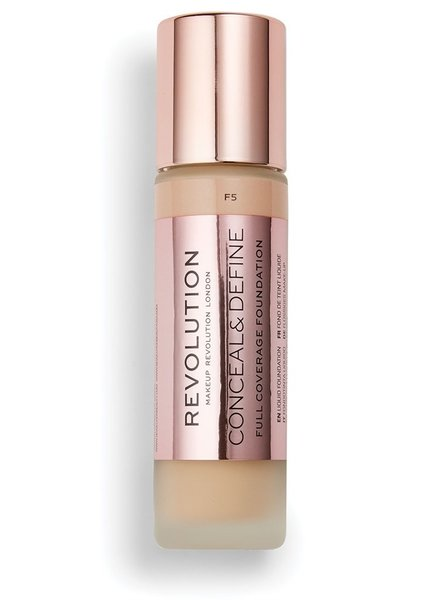 Makeup Revolution Conceal & Define Full Coverage Foundation [F 5.0]
