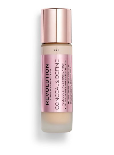 Makeup Revolution Conceal & Define Full Coverage Foundation [F 5.5]