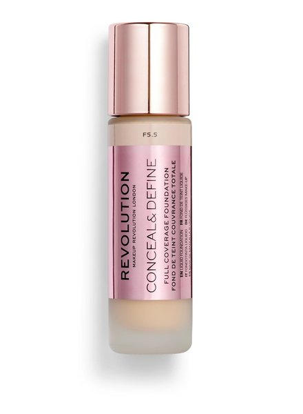 Makeup Revolution Conceal & Define Full Coverage Foundation [F 5.5]