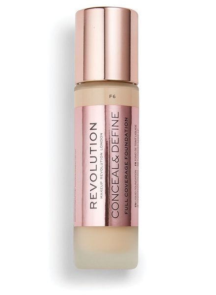 Makeup Revolution Conceal & Define Full Coverage Foundation [F 6.0]