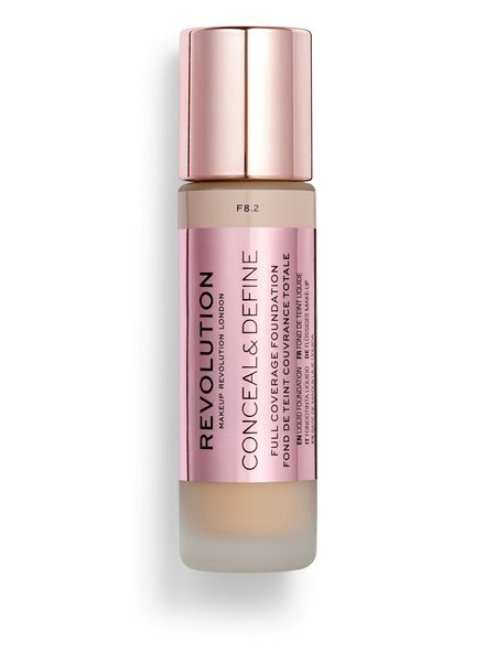 Makeup Revolution Conceal & Define Full Coverage Foundation [F 8.2]