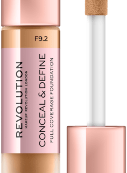 Makeup Revolution Conceal & Define Full Coverage Foundation [F 9.2]