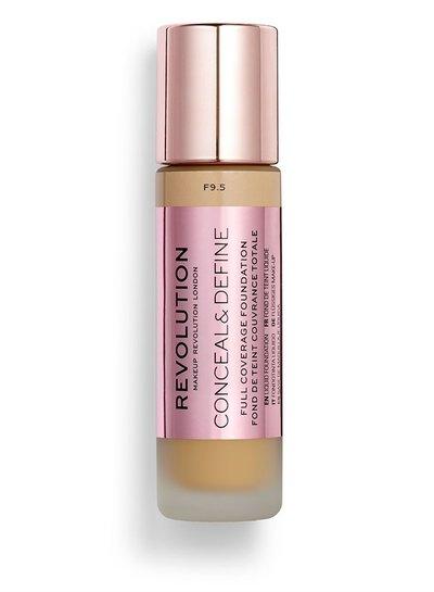 Makeup Revolution Conceal & Define Full Coverage Foundation [F 9.5]