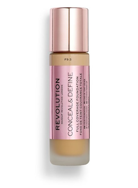 Makeup Revolution Conceal & Define Full Coverage Foundation [F 9.5]