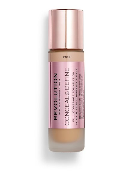 Makeup Revolution Conceal & Define Full Coverage Foundation [F 10.2]