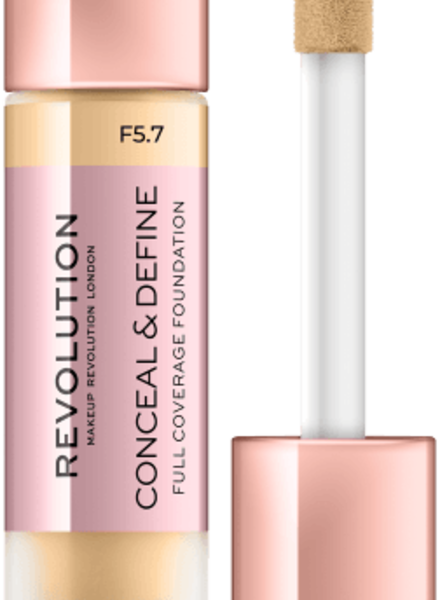 Makeup Revolution Conceal & Define Full Coverage Foundation [F 5.7]