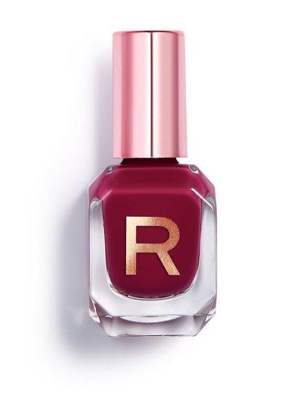Makeup Revolution High Gloss Nail Polish Damson