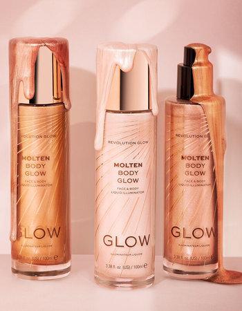 Makeup Revolution Glow Molten Body Bronze Liquid Illuminator