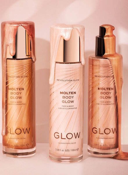 Makeup Revolution Glow Molten Body Bronze Liquid Illuminator