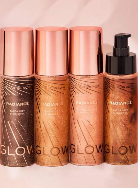 Makeup Revolution Glow Radiance Shimmer Oil