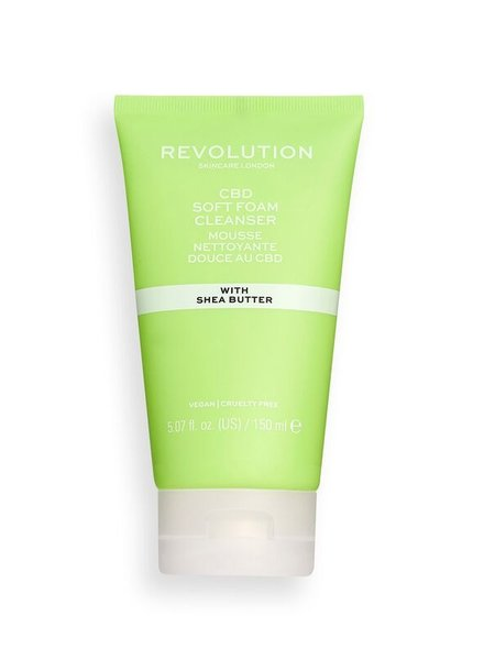 Revolution Beauty London Revolution Skincare - CBD Soft Foam Cleanser