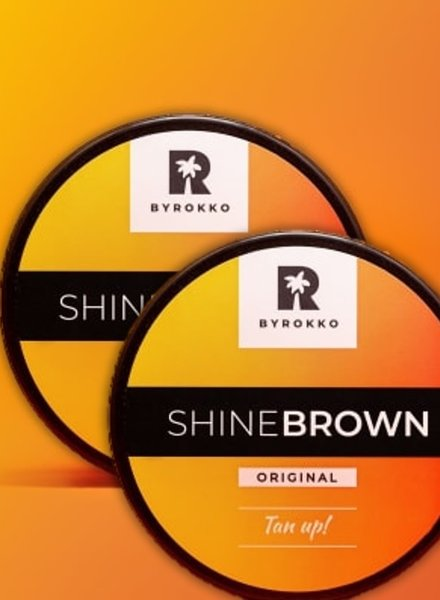 BYROKKO BYROKKO - Shine Brown Double Pack 2x190ml