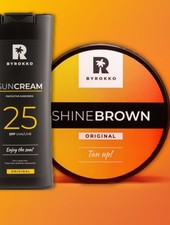 BYROKKO BYROKKO - Shine Brown & SPF 25 Combo