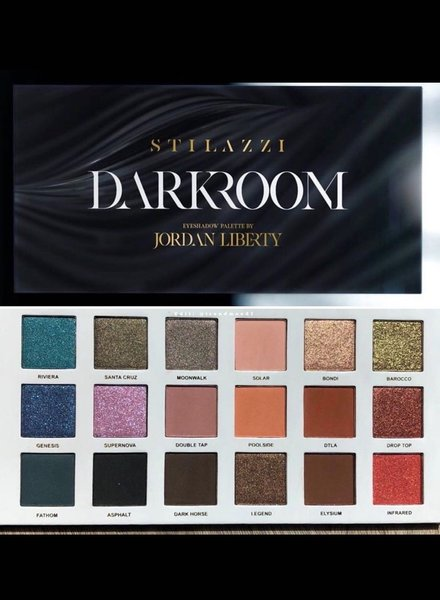 Stilazzi Cosmetics Stilazzi Cosmetics - Darkroom Eyeshadow Palette