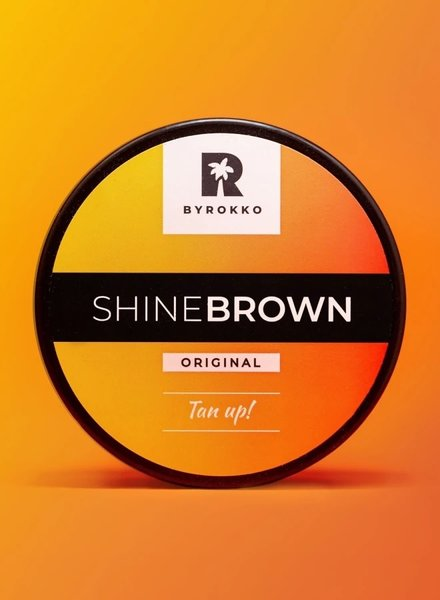 BYROKKO BYROKKO - Shine Brown Tanning cream 190ml