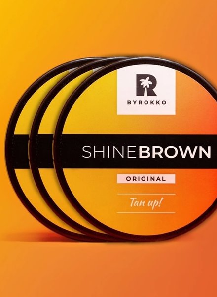 BYROKKO BYROKKO - Shine Brown Trio Pack 3x190ml