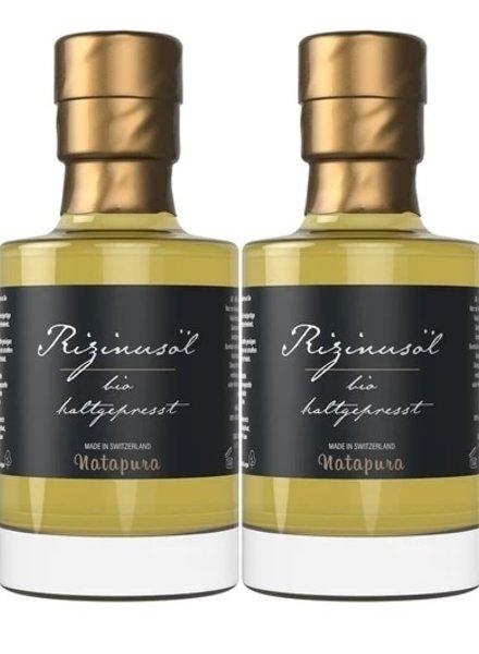 Natapura Natapura - Bio zertifiziertes Rizinusöl Bundle (Wimpern & Brauenbooster!)