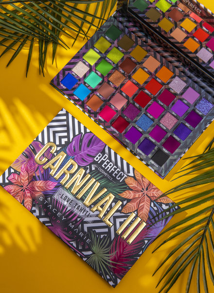 BPERFECT BPERFECT X Stacey Marie - Carnival III Love Tahiti Palette