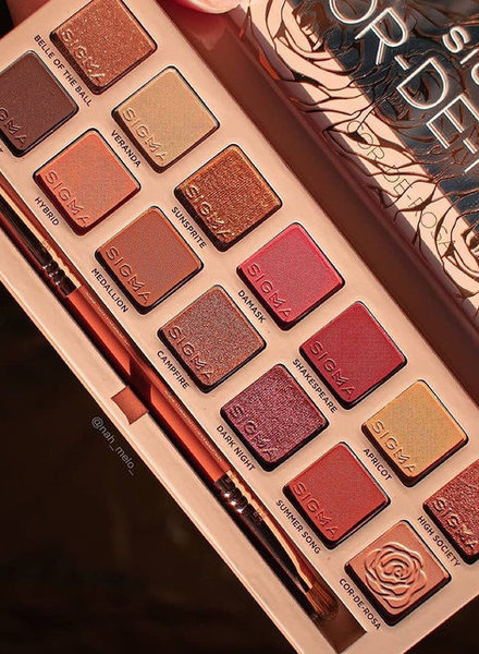 Sigma Beauty® Sigma Beauty - Cor-de-Rosa Palette