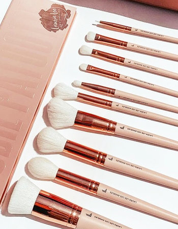 Laura Lee L. A. Laura Lee - Full brush set & makeup bag