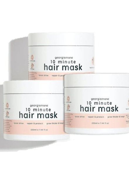 Georgiemane Georgiemane - 10 minute hair mask Trio Pack